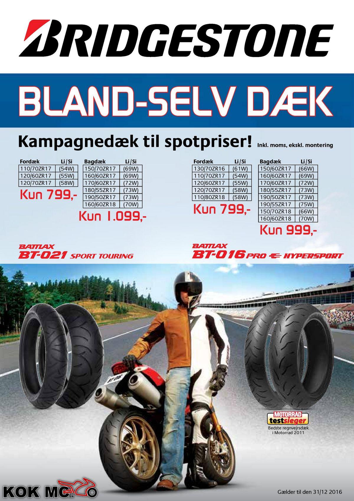 dæk priser