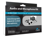 Cardo PACKTALK og SMARTPACK-Audio-Kit-box